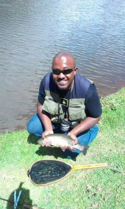 Caught at 11am on an Orange GRHE at Mbaathi Dam on 26th December 2013