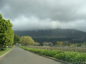 Cloudy Table Mountain