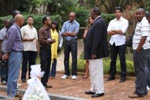 Kenya crew in Kigali